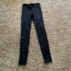 Under armour black leggings size small